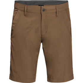 Jack Wolfskin Desert Valley Short Homme, bark brown